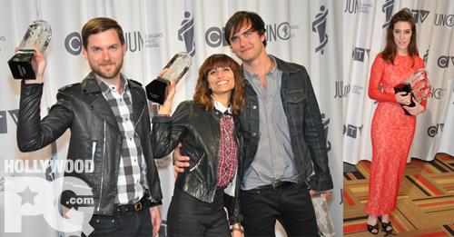 Junos 2012 - Les gagnants