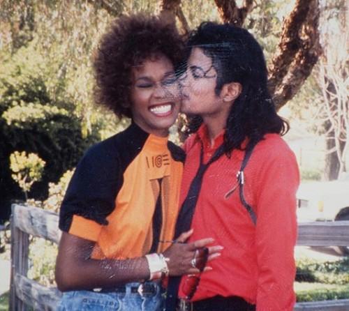 Whitney Houston Michael Jackson