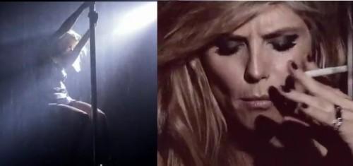 Heidi Klum fait du pôle dancing pour Hunger TV