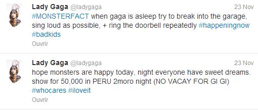 Lady Gaga - 35 fans s'introduisent chez elle pour Thanksgiving