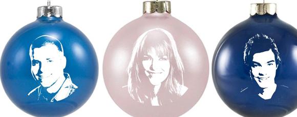 Les boules de Noël Star Académie