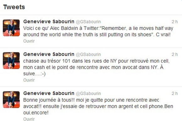 Geneviève Sabourin ne lâche pas le morceau