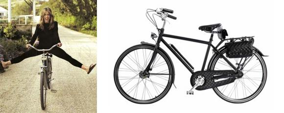Un vélo Chanel comme Jennifer Aniston