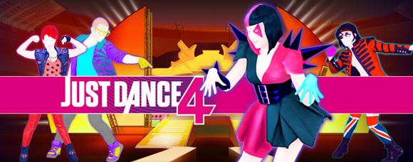 Le jeu Just Dance 4
