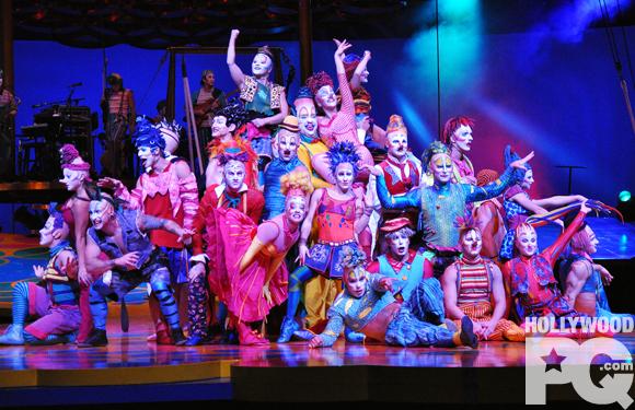 Saltimbanco du Cirque du Soleil - Première au Centre Bell
