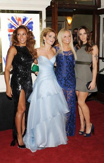 La première de la comédie musicale des Spice Girls à Londres