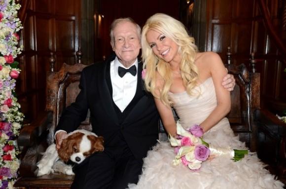 Hugh Hefner et Crystal Harris sont mariés