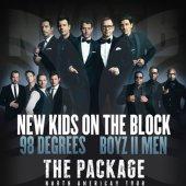 The Package Tour - Les New Kids On The Block, 98 Degrees et Boyz II Men seront à Montréal le 6 juin 2013