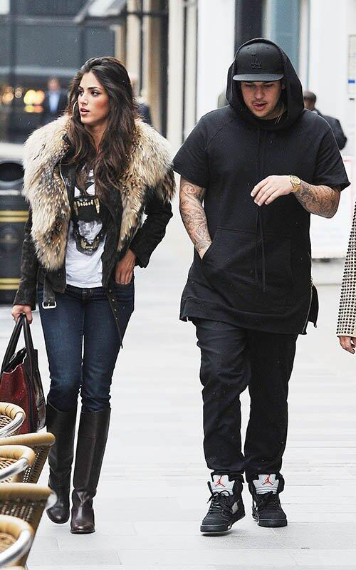 Rob Kardashian est en couple avec Naza Jafarian