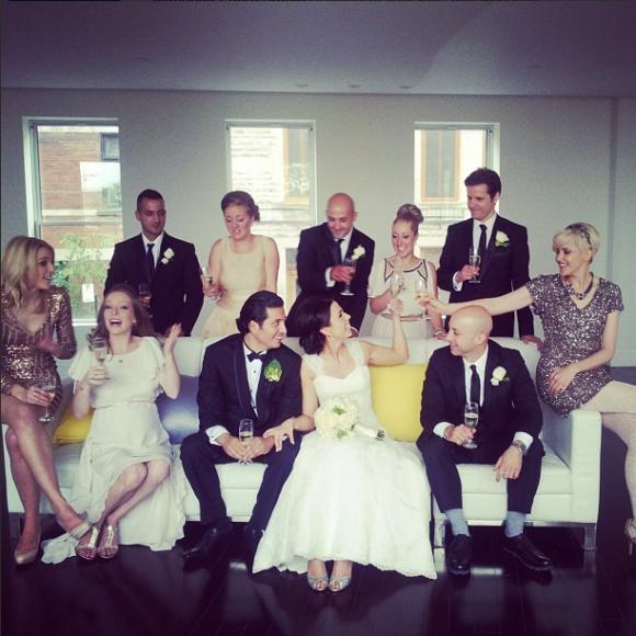 Julie St-Pierre est mariée
