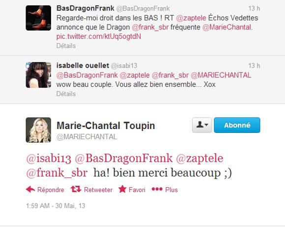 Marie-Chantal Toupin est en couple avec François Lambert