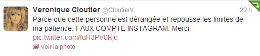 Véronique Cloutier n'est PAS sur Instagram