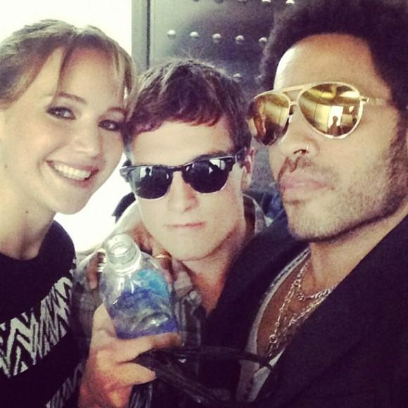 Les acteurs de The Hunger Games: Catching Fire au Comic-Con de San Diego 2013