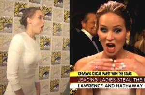 Jennifer Lawrence - Sa rencontre hilarante avec Jeff Bridges au Comic Con