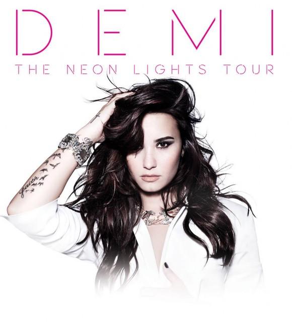 Demi Lovato annonce la tournée Neon Lights Tour et sera à Toronto en mars 2014