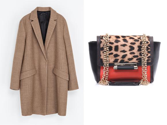 Le manteau Zara de Lily Collins