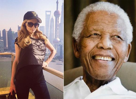 Une personne se fait passer pour Paris Hilton et confond Martin Luther King et Nelson Mandela