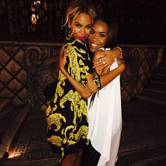 Beyoncé célèbre le Nouvel An avec les filles de Destiny's Child à Miami