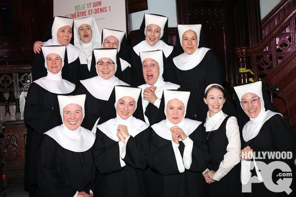 SISTER ACT (Rock n' nonne) - Denise Filiatrault dévoile la distribution