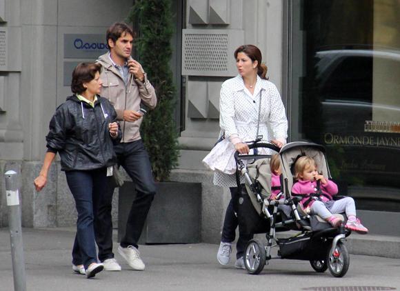 Roger Federer à nouveau papa de jumeaux