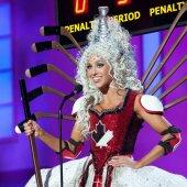 Miss Univers 2015 - Chanel Beckenlehner, Miss Canada fait jaser avec son costume de hockey
