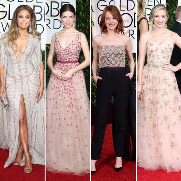 Golden Globes 2015 - Les 20 plus belles tenues du tapis rouge