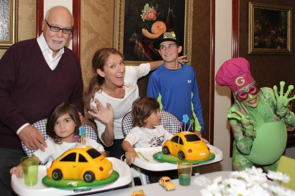 Les jumeaux de Celine Dion sont fans d'Annie Brocoli