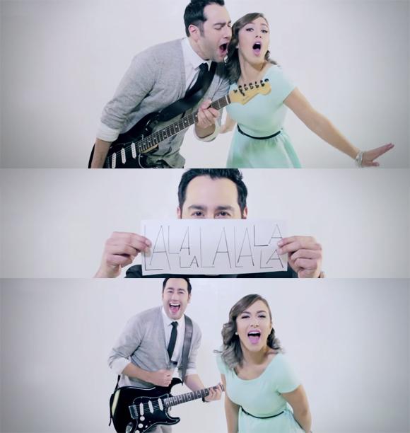Ian Lee et Liz Labelle lancent le vidéoclip de Rock This Town