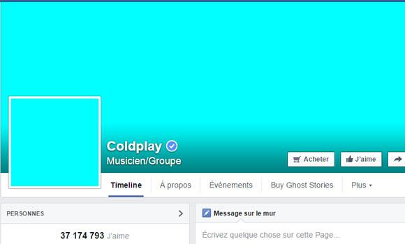 Ce que veut dire la nouvelle photo de profil de Coldplay, Arcade Fire et Rihanna.