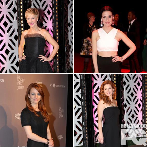 Top 10 - Les plus jolies tenues du gala des prix Jutra 2015