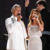Céline Dion et Andrea Bocelli à nouveau réunis sur scène