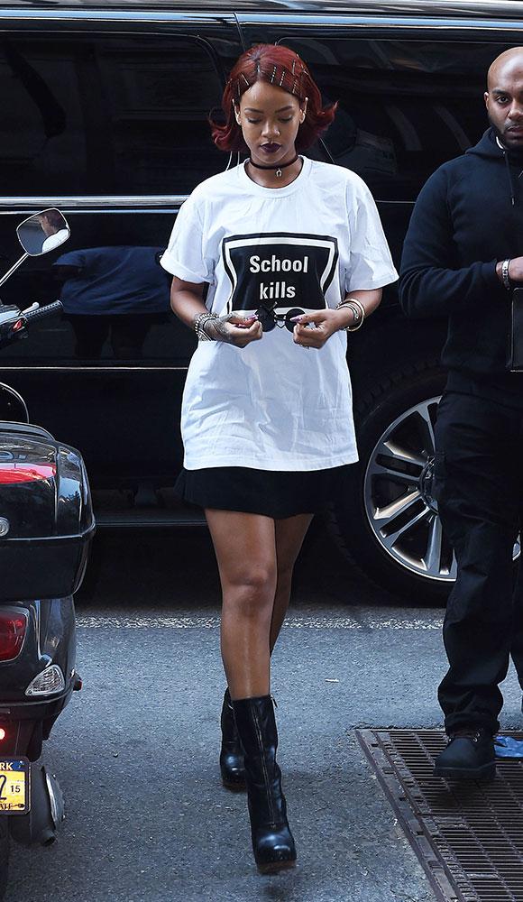 Le controversé t-shirt de Rihanna