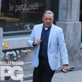 Kevin Spacey dans le Vieux-Montréal pour le tournage de Nine Lives - SPOTTED