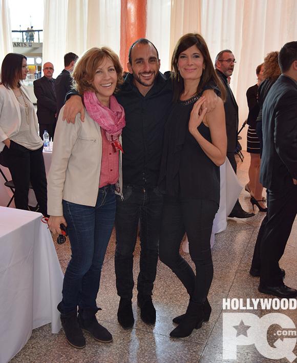 Sophie Lorain, Anne-Marie Cadieux et Dany Turcotte forment des couples imaginaires devant la lentille d'Olivier Ciappa