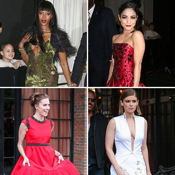 MET Gala 2015 – les stars se rendent sur le tapis rouge