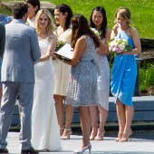 Exclusive... Rachel McAdams Attends A Friend's Wedding In Canada
