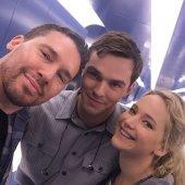 Jennifer Lawrence et son ex réunis sur le plateau de tournage de X-Men
