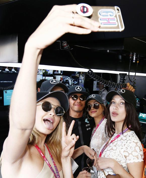 Celebrities At The Formula 1 Grand Prix Of Monaco