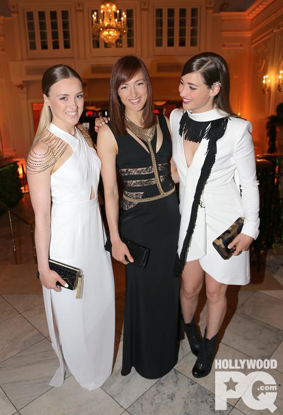 Les soeurs Dufour-Lapointe sont PARFAITES à la soirée Infinity F1 du Ritz-Carlton pour le Grand Prix de Montréal