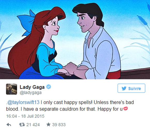Taylor Swift est en couple grâce à Lady Gaga!