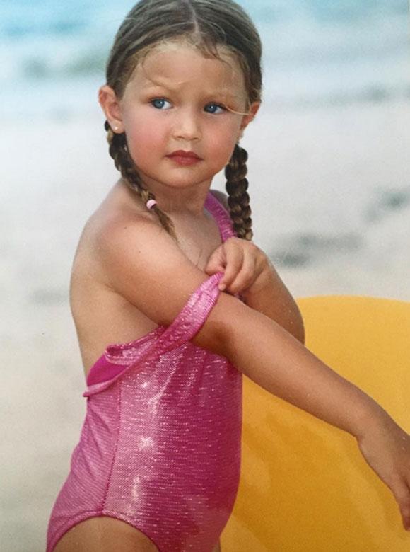 Cette photo de Gigi Hadid bébé prouve qu'elle allait TELLEMENT devenir mannequin