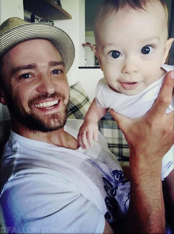 Justin Timberlake et Jessica Biel dévoilent deux nouvelles photos de leur petit Silas