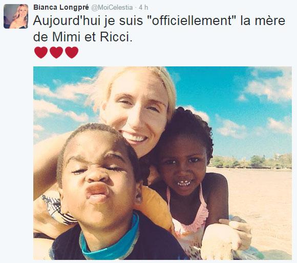 François Massicotte est «officiellement» papa de ses enfants adoptés