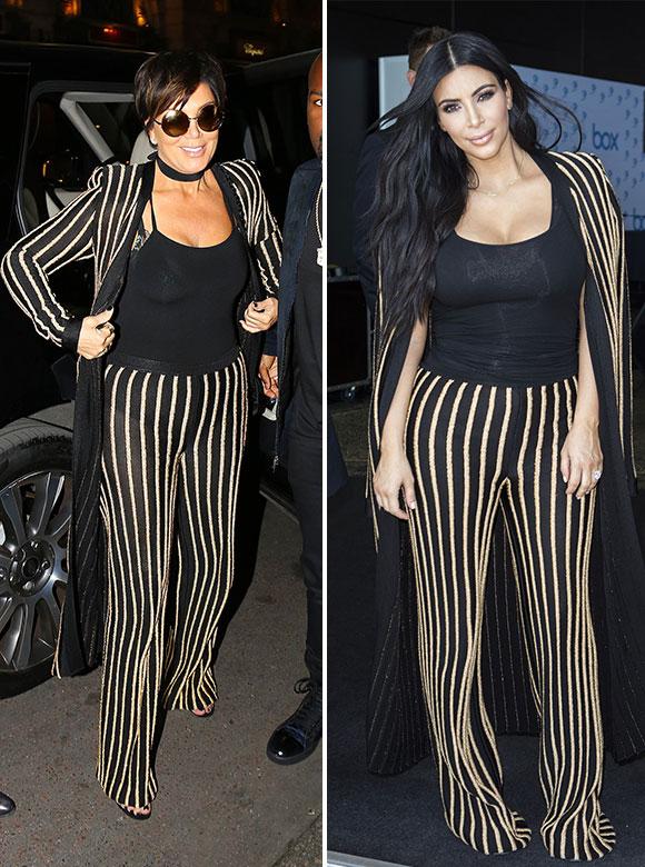 Kim Kardashian vole une robe dans la garde-robe de sa mère ...