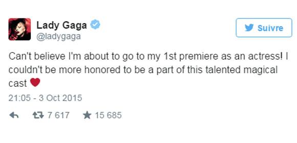Lady Gaga vole la vedette à la première de American Horror Story - tapis rouge