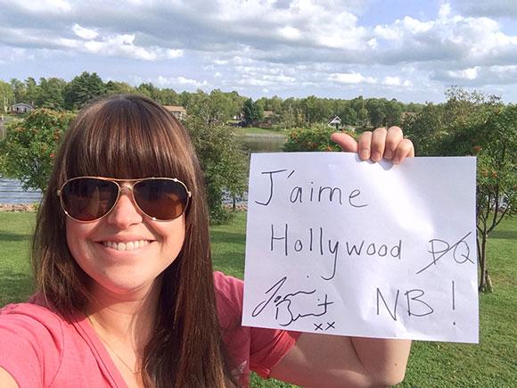 Joannie Benoit en 13 questions - Entrevue exclusive HollywoodPQ