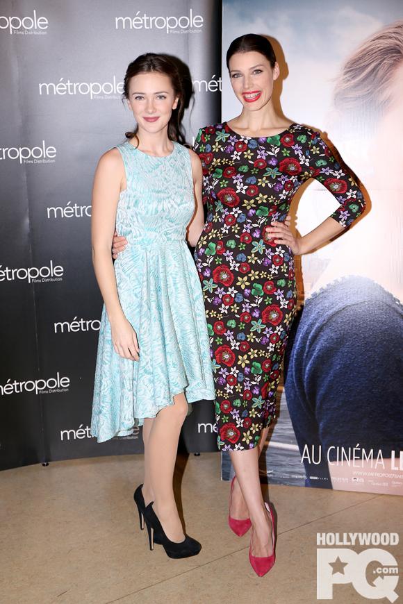 Jessica Paré et Samantha Munro Brooklyn