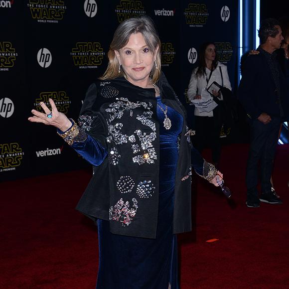 Carrie Fisher remet à leur place ceux qui disent qu'elle a mal vieillit