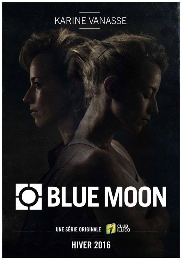 Les premières images de Blue Moon avec Karine Vanasse!