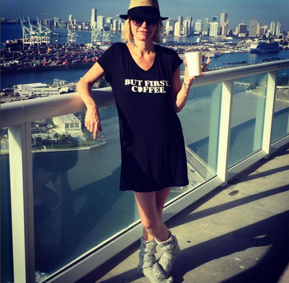 Caroline Néron passe le nouvel An à Miami